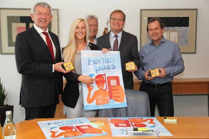 Pressetermin mit dem Oberbürgermeister und dem Landrat von Bamberg