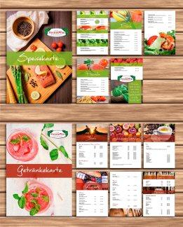 Speise- & Getränkekarten